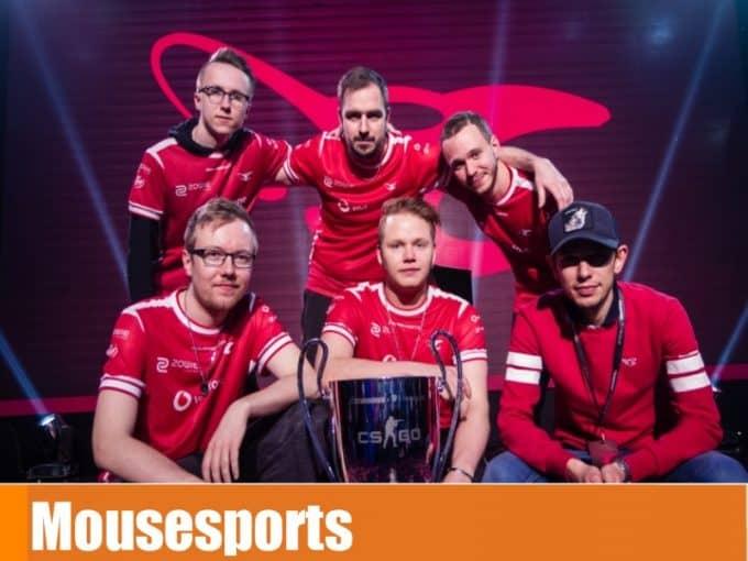 Команда mousesports в кс го