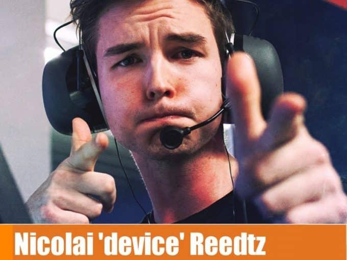 Игрок Device кс го