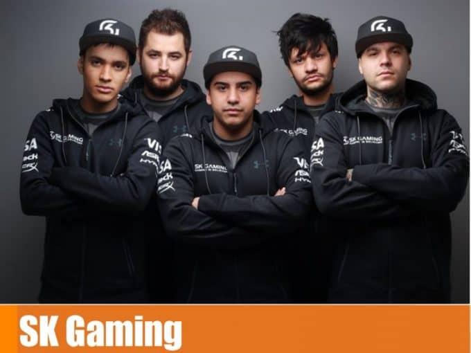 Команда SK Gaming в кс го