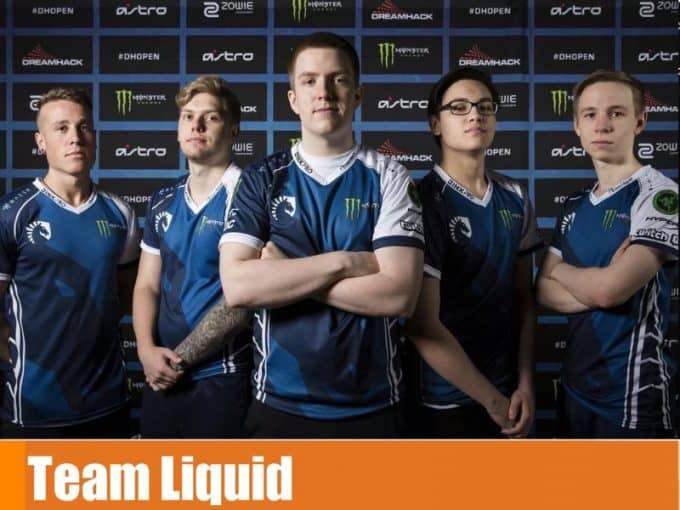 Команда Team Liquid в кс го